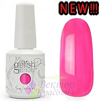 Hand & Nail Harmony Gelish - All About the Glow Collection - MAKE YOU BLINK PINK - 15мл