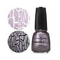 Лак для ногтей Crackle СG - Latticed Lilac - 14мл
