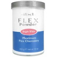 IBD Bright White Flex® Polymer Powder, 453 г. - ярко-белая акриловая пудра